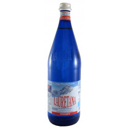 Acqua Minerale Lauretana Blu Frizzante 1,0 Lt