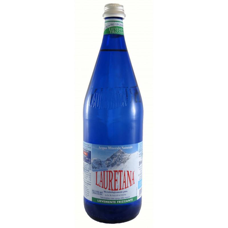 Acqua Minerale Lauretana Blu Leggermente 1,0 Lt