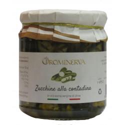 OroMinerva – Zucchine alla Contadina vaso 270 gr